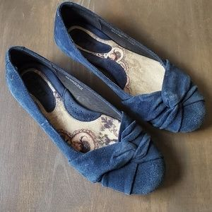 Born suede flats